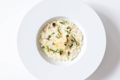 Risotto with Provolone
